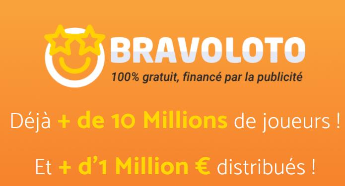 La loterie gratuite avec Bravoloto