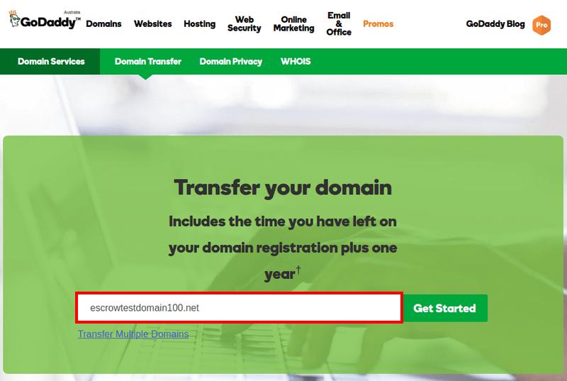 Godaddy enchere : vendre son nom de domaine