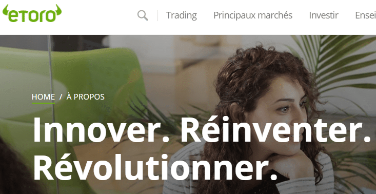 etoro - plateforme de trading pour investir